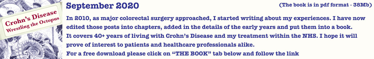 The Crohnoid Blog – Living with Crohn's Disease